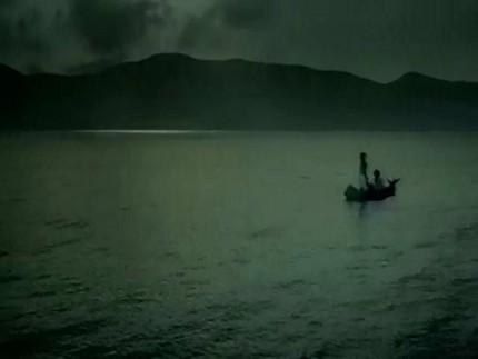 月桂冠つきCM「彼女の夢篇」笹舟