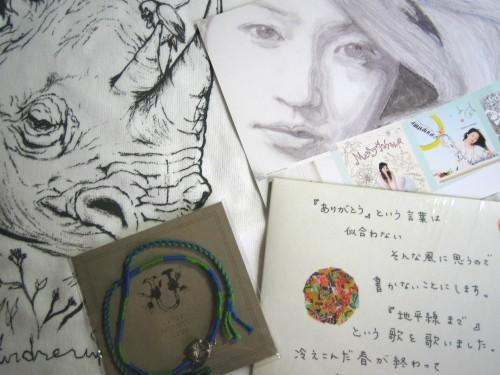 安藤裕子『2011 ACOUSTIC LIVE ツアーグッズ』