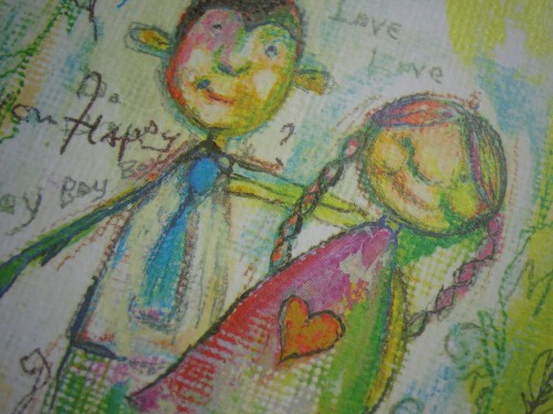 2011 UCAD LiVE KIDS バースデーカード