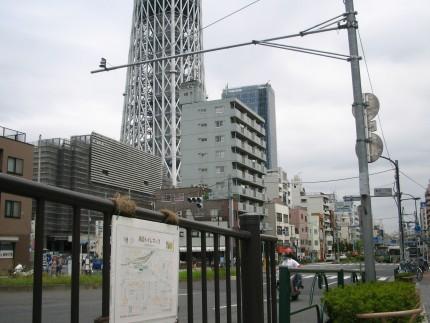 浅草通り沿い