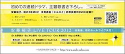 安藤裕子 LIVE TOUR 2012