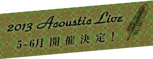 安藤裕子 2013 アコースティックライブツアー決定