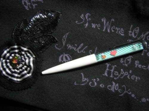 ビーズブレードのランチトートとBOY&GIRLのフロートペン
