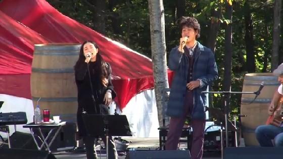 安藤裕子&大泉洋とのデュエット「夏の終りのハーモニー」 @長月祭 ライブ映像